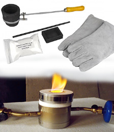 gold smelting supplies