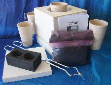 Microwave Gold Smelting Kiln Kit