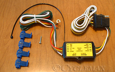 to pin trailer harness converter