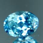 Windex blue Australian Zircon.