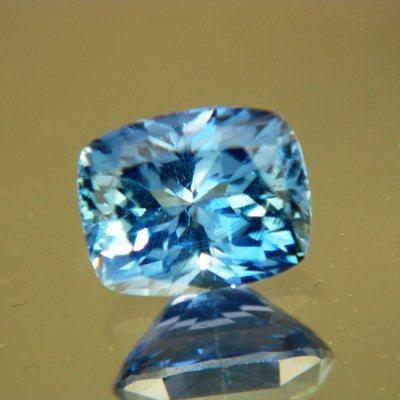 Lively marine blue Tanzanian sapphire