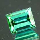 Deep blue green Afghani tourmaline