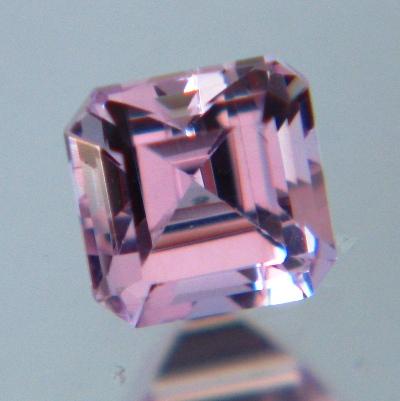 Lavender pink Burmese sapphire