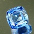 Fresh cornflower blue Ceylon sapphire