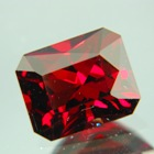 Deep red Burma spinel