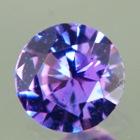 Intense purple violet Ceylon sapphire