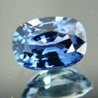 Cold marine blue Ceylon sapphire