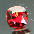 Carmine red Ceylon spinel