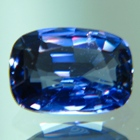 Blue violet Ceylon sapphire