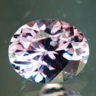 Thai sapphire no heat purple-pink color changer