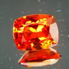 cushion clean hessonite for astrology and beauty