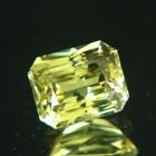 precision cut chrysoberyl in fine yellow