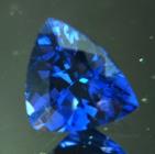 Rich violet blue Ceylon cobalt spinel