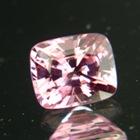 Pastel pink Ceylon spinel