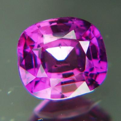 Neon reddish purple Ceylon sapphire