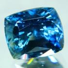 Greenish blue Tanzanian sapphire