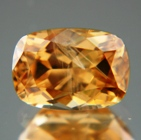 Cognac colored African Zircon.