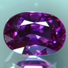 Purple sapphire unheated