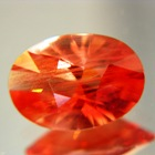 Red orange Oregon sunstone