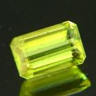 Neo lime green Ceylon sphene