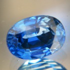 Dense marine blue African Sapphire
