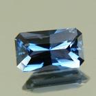 Deep steel blue Ceylon spinel