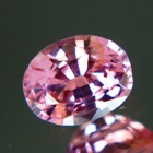 Pink with orange tint Ceylon spinel