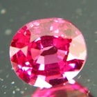 Natural Rhodolite Garnet with natural color