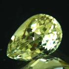 heliodor beryl in pear shape no treatments