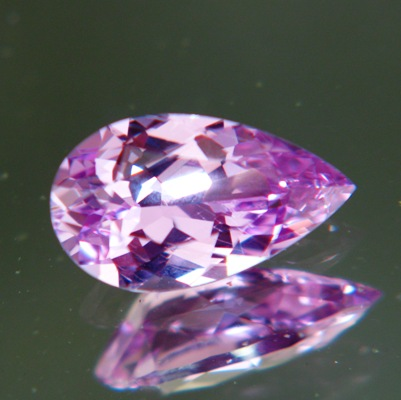 Dense pinkish purple Ceylon sapphire