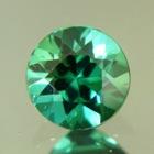 Metallic blue green Afghani tourmaline