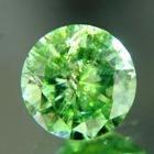 grass green green demantoid precision cut