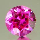 Neon pink Burmese sapphire
