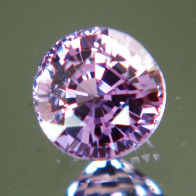 Pastel purple Ceylon sapphire