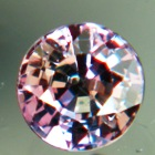 colorchange sapphire alexandrite type green to pink round