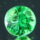 round master green tsavorite extra fine color