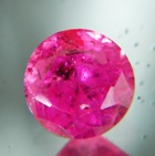 round Tanzanian Ruby over one carat
