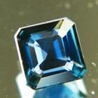 Midnight marine blue African Sapphire