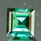 mint green tourmaline round brilliant cut in germany