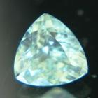 Bright blue Australian Zircon.