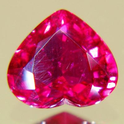 heart thai ruby untreated