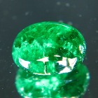 cabochon emerald without oil