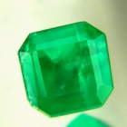 1.07 sandawana emerald silky vivid green
