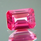 Rich orange pink Mehenge spinel