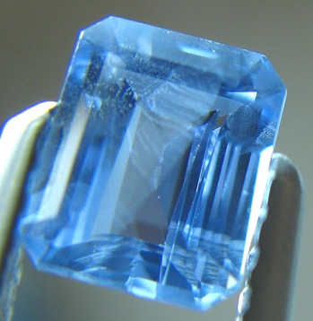 Sky blue Burmese sapphire