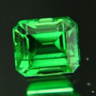 neon green tsavorite untreated