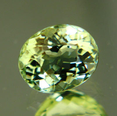 Bright mint green Ceylon tourmaline