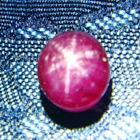 Rose red Indian star Ruby