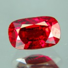 long cushion untreated ruby