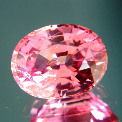 Lively pure pink Ceylon spinel